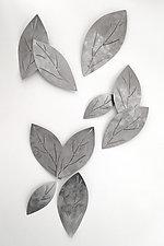 Shadow Leaves by Marsh Scott (Metal Wall Sculpture)