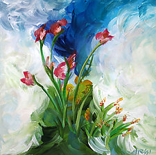 Handful of Blooms by Marsh Scott (Acrylic Painting)