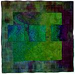 Colorfields: Emerald by Michele Hardy (Fiber Wall Hanging)