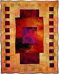 Colorfields: Ametrine by Michele Hardy (Fiber Wall Hanging)