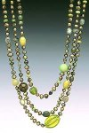 Olivine by Diana Lovett (Pearl Necklace)