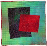 Gems #14 by Michele Hardy (Fiber Wall Hanging)