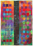 Directions #7 by Michele Hardy (Fiber Wall Hanging)