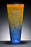 Cone Vase by Curt Brock (Art Glass Vase)