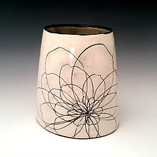 Chunky Peony Vase by Whitney Smith (Ceramic Vase)