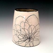 Chunky Peony Vase by Whitney Smith (Ceramic Vase)