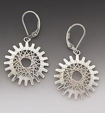 Pyxis Earrings by Marie Scarpa (Silver Earrings)