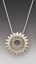 Pyxis Pendant by Marie Scarpa (Silver Necklace)