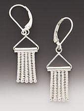 Hangers Earrings by Marie Scarpa (Silver Earrings)