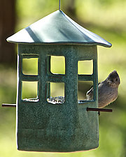 Window Bird Feeder by Cheryl Wolff (Ceramic Bird Feeder)