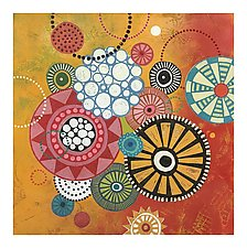 Happiness 1 by Lisa Kesler (Acrylic Painting & Giclee Print)