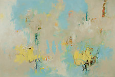 Clouds Have Secrets by Karen Scharer (Oil Painting)