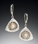 Large Spyro Earrings by Marie Scarpa (Silver Earrings)