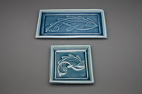 Small and Rectangular Flying Fish Plates