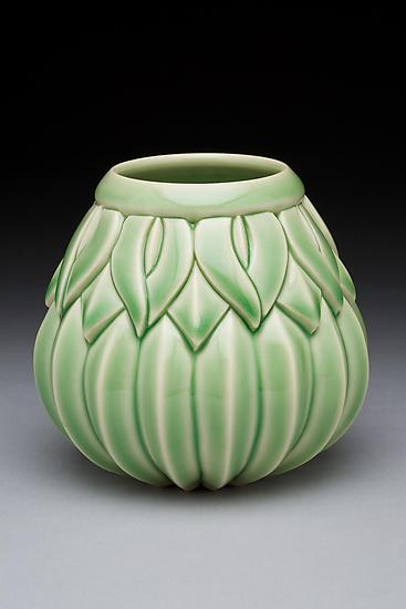 Small Striped Sins Vase