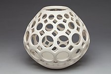 Teardrop Lantern/Vessel by Lynne Meade (Ceramic Vessel)