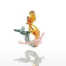 Sea Nymph by Milon Townsend (Art Glass Ornament)