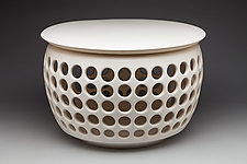 Ceramic Side Table by Lynne Meade (Furniture Side & Pedestal Tables)