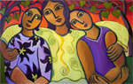 Three's Family by Katharina Magdalena Short (Giclee Print)
