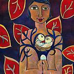 Be the Tree by Katharina Magdalena Short (Giclee Print)