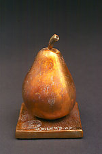 Sun Pear - Poire de Soleil by Darlis Lamb (Bronze Sculpture)