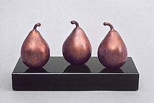 Trio Too—Trio Aussi by Darlis Lamb (Bronze Sculpture)