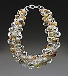 Absolute Necklace by Melissa Schmidt (Art Glass Necklace)