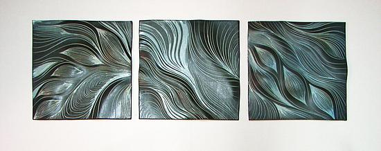 Abstract Ceramic Wall Tiles in Robin