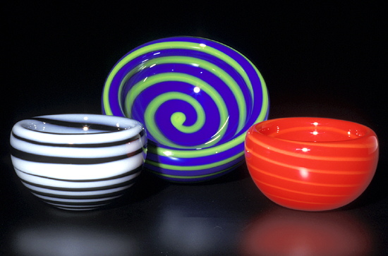 Spiral Bubble Bowl