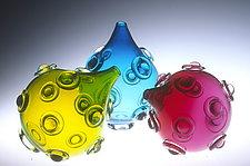 Mace Vase by Cristy Aloysi and Scott Graham (Art Glass Vase)