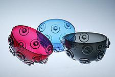 Mace Bowl by Cristy Aloysi and Scott Graham (Art Glass Bowl)