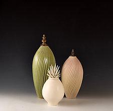 Soft Earth Vessels by Natalie Blake (Ceramic Vessel)