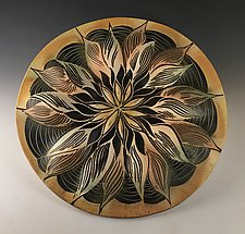 Cosmos Mandala by Natalie Blake (Ceramic Wall Sculpture)