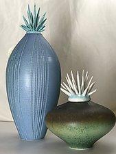 Shells by the Sea by Natalie Blake (Ceramic Vessel)