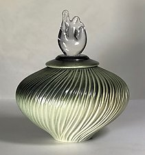 Jade Clear Light by Natalie Blake (Ceramic Vessel)