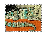 Iguana by Alison Palmer (Pigment Print)