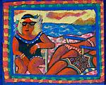SunGoddesses From Away by Dana Trattner (Giclee Print)