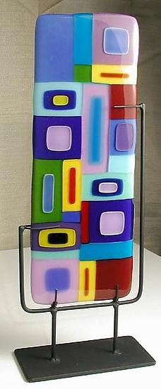 Vertical Freestanding Sculpture
