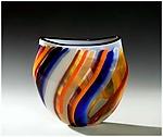 Carnival by Bengt Hokanson and Trefny Dix (Art Glass Vase)