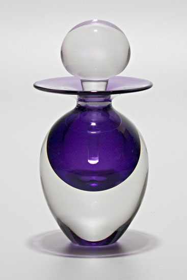 Egg Perfume Bottle: Grape