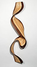 Walnut Wallwave by Kerry Vesper (Wood Wall Sculpture)