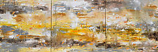 Golden Wetland by Stephen Yates (Acrylic Painting)