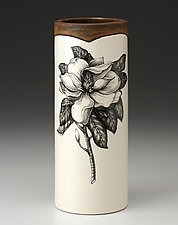 Small Vase: Magnolia Blossom by Laura Zindel (Ceramic Vase)