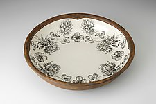 Pasta Bowl: Clover by Laura Zindel (Ceramic Bowl)
