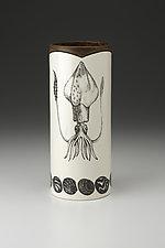 Large Vase: Squid by Laura Zindel (Ceramic Vase)