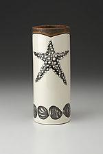 Small Vase: Starfish by Laura Zindel (Ceramic Vase)