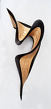 Wenge Jive by Kerry Vesper (Wood Wall Sculpture)