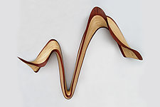 Ritz Wave by Kerry Vesper (Wood Wall Sculpture)
