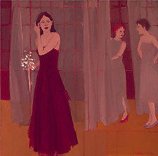 Wardrobe by Mary Hatch (Oil Painting)