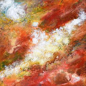 Cosmos XXXVI by Stephen Yates (Acrylic Painting)